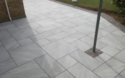 Porcelain Paving Installation