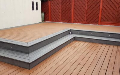 Trex decking installation