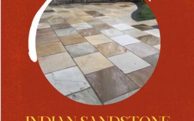 Indian Sandstone Patio