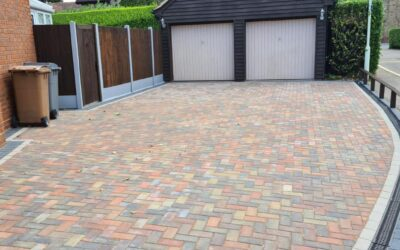 Block Paving Completed